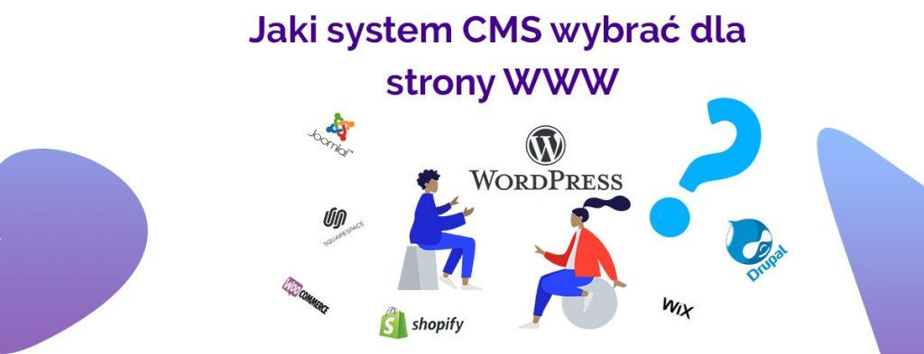 jaki system wybrać CMS dla strony WWW